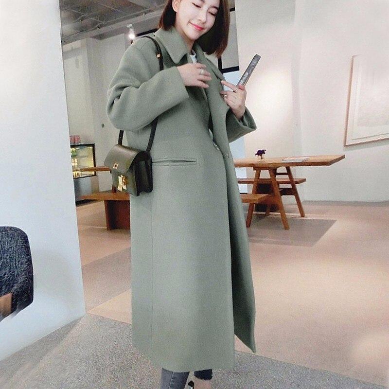 Gumprun nuevo alta calidad chaqueta abrigo de mujer de invierno cálido abrigo para mujeres Plus tamaño 2XL abrigo largo Manteau femme
