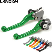 Green CNC Aluminum For KAWASAKI KX250 2005 2008 Motorcycle Brake Clutch Lever Pivot Lever KX 250