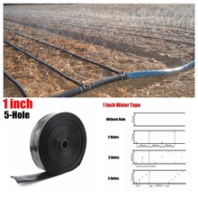200 m 1N45 5-Hole Spray Irrigation Soft Water Pipe Drip Tape Saving Hose For Farm Land Watering Kits