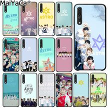 MaiYaCa KPOP ASTRO Heart shaped K-POP Soft Black Phone Case for Huawei P20Lite P10 Plus Mate10Lite Mate20 P20 Pro Honor10 View10(China)