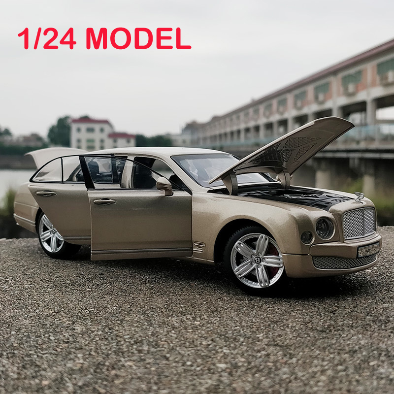 1/24 Toy Car Excellent Quality Bentley Mulsanne Metal Car Toy Alloy Car Diecasts & Toy Vehicles Car Model Toys gift For Children