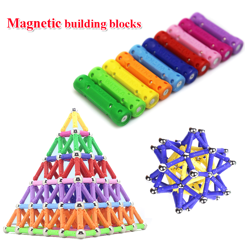 60pcs/set New Hot sale Child intelligence toy educational toys magnetic stick favorite gift 2015 hot sale favorite cleo de nile and lagoona blue orchid chocola sets toys