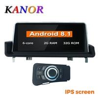 KANOR 10.25 IPS screen PX6 Six Core 2+32G Android 8.1 car radio multimedia palyer for BMW 3 serise E90 E91 E92 E93 GPS WIFI BT