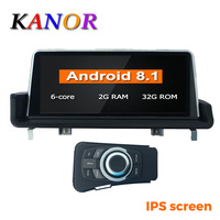 KANOR 10.25 IPS screen PX6 Six Core 2+32G Android 8.1 car radio multimedia palyer for BMW 3 serise E90 E91 E92 E93 GPS WIFI BT