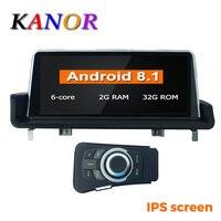 KANOR 10,25 ips экран PX6 ШЕСТЬ Core 2 Гб + 32 ГБ, Android 8,1 автомобиль радио Мультимедиа плейер для BMW 3 serise E90 E91 E92 E93 gps WI FI BT