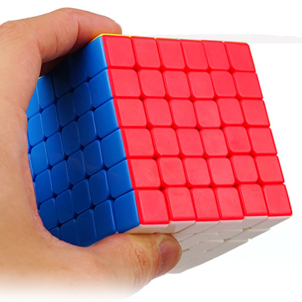 6 couches YJ YuShi 6x6x6 6.8 CM Puzzle de vitesse Cubes magiques 6*6*6 Cube jouets pour enfants Cubo Megico