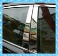 Нержавеющая Горячие продаем Стальные Оконные Планки Центр Столпы B + C Столп охватывает 6 шт. Накладка Для Mazda 07 08 09 10 11 CX7 CX-7