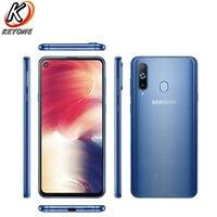 Brand New Samsung Galaxy A8s G8870 Mobile Phone 6.4 6GB RAM 128GB ROM Octa Core Snapdragon 710 Four Camera NFC Dual SIM Phone