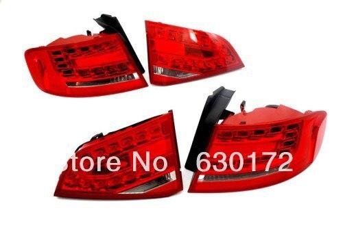 Евро Spec светодиодный фонарь светильник для Audi A4 B8 led tail light light fortail light  