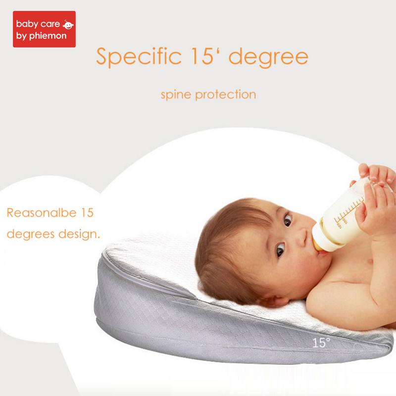 Babycare Baby Memory Foam Wedge Pillow Infant Reflux