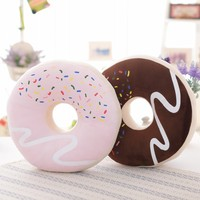 Hot Chocolate donuts cuscino cuscino auto Ufficio cuscini del Divano cuscino Decorazione Della Casa regalo di compleanno