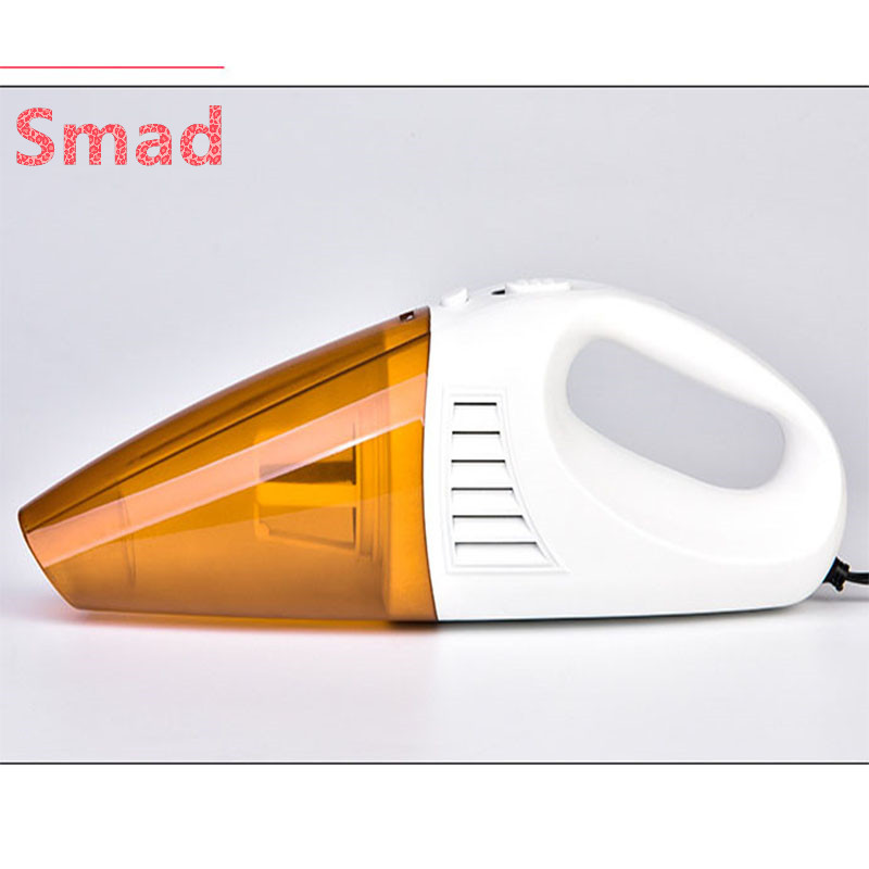 Smad Handheld Car Vacuum Cleaner 100W Portable Manual Vacuum Cleaner Wet and Dry Powerful Dual Use Aspirateur Dust