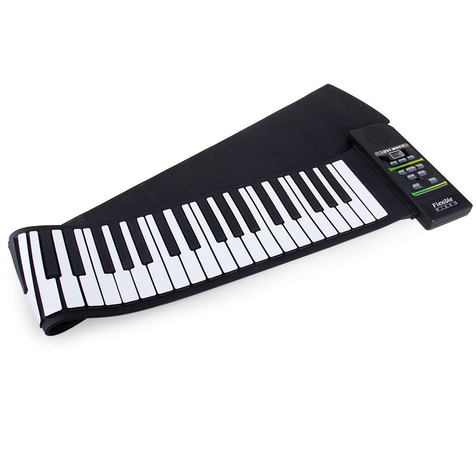 High Quality Midi Roll Up Portable Electronic Flexible Fold Keyboard Piano PN88S MIDI Piano Kit with 88 Keys - 100 - 240V bp studio болеро