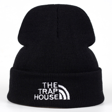 2018 New THE TRAP HOUSE winter Hat women Men Skullies Black