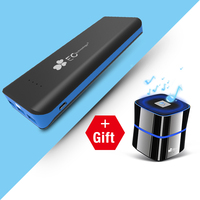 EC Technology High Capacity 20000 Mah Portable Power Bank With LED Portable Charger For IPhone Samsung