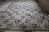 Free shipping 10K 9'X12' classical antique needlepoint rugs, 100% New Zealand wool rugs wholesale prices NEW STORE PROMOTION