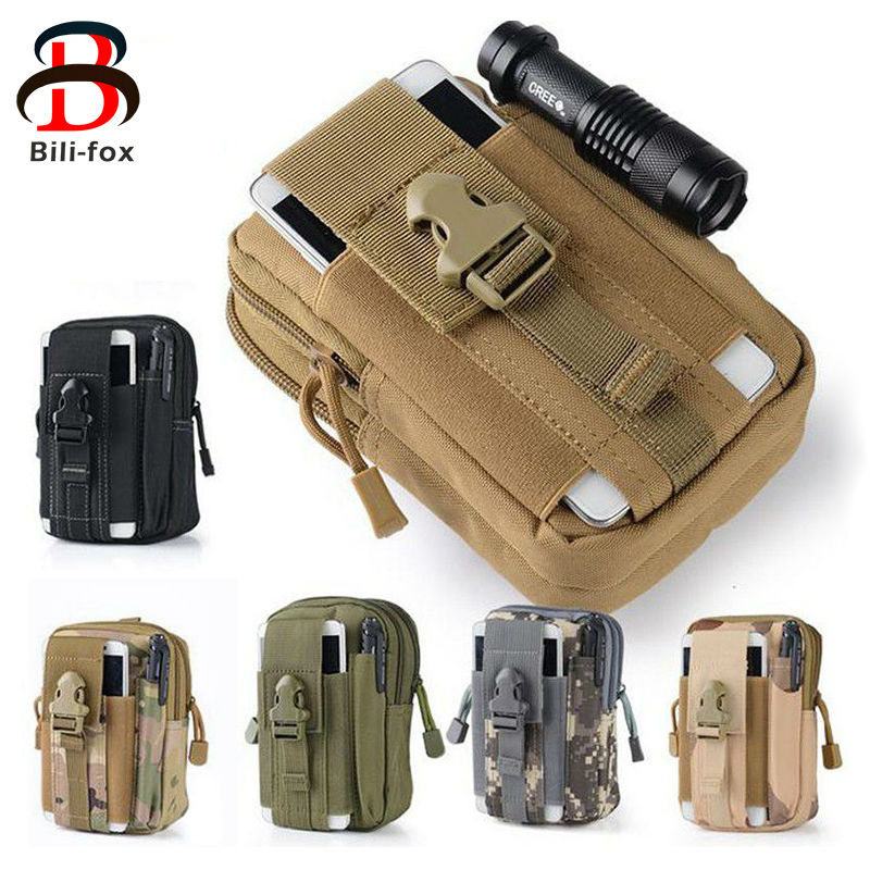 Bili-fox Tactical Waist Phone Bag for Samsung Galaxy A3 A5 J3 J5 S5 S7 Pouch Pocket for Redmi 4 Pro Xiaomi 5 note 3 note 4 Cases