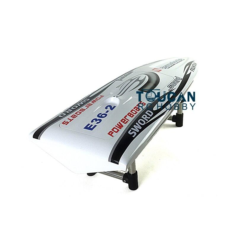 E36 комплект 30 электрический RC лодка хорошо окрашенная стекловолокно Monohull корпус лодки только для продвинутого игрока Белый TH02646 - 4