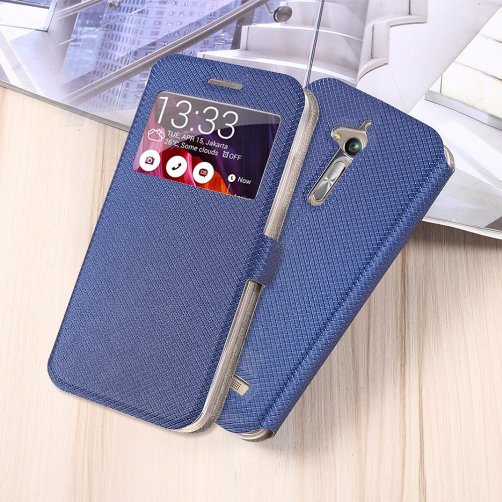 For <font><b>Asus</b></font> ZenFone Go ZB500KL ZB500KG PU Leather Back Cover Case For <font><b>Asus</b></font> Zenfone 3 Max <font><b>ZC520TL</b></font> Case Flip Protective Phone Case image