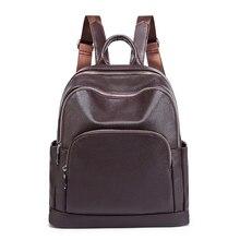 Moda kadın Sırt Çantası hakiki deri çanta Kadınlar Lüks omuz çantaları Bayan Seyahat Çantaları