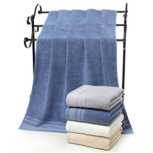 hot deal buy 2018 new solid whirt blue brown gary 100% cotton face towels hand towel bath towels for adults beach towel hotel sizes 70*140cm