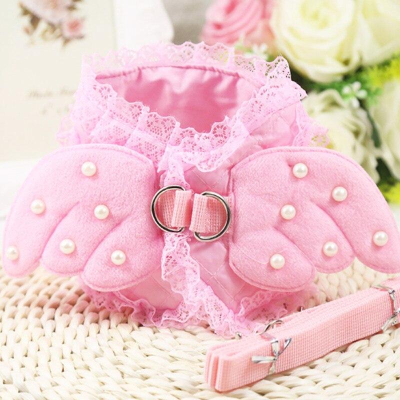 Angel princess dog chest strap traction suit pet chest strap dog leash Teddy cat 180516-22