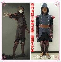 Avatar The Legend of Korra Amon Anime Cartoon Halloween Cosplay Costume B002