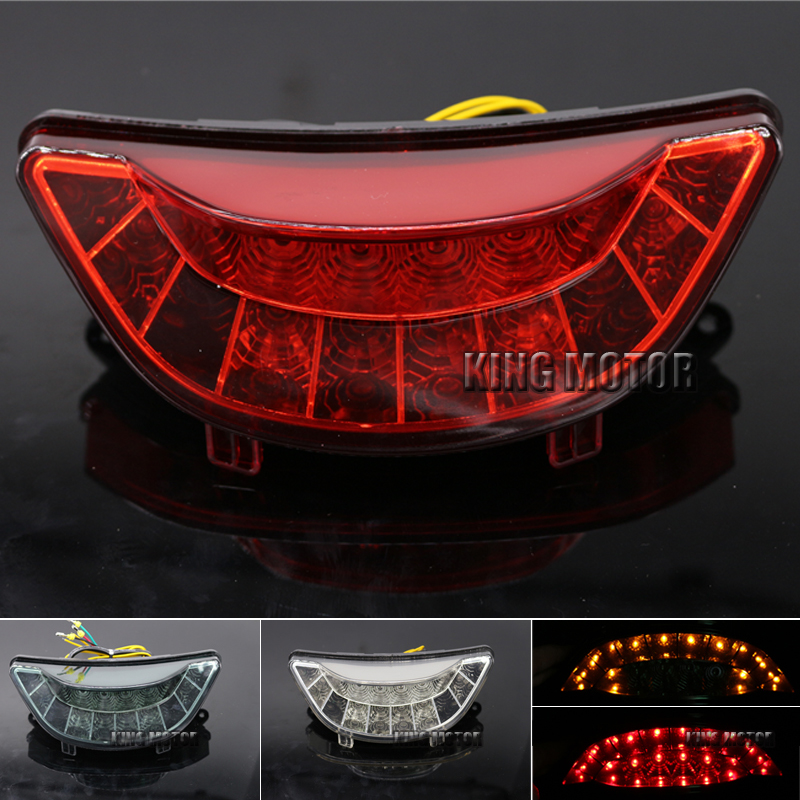 Motorcycle Accessories Integrated LED Tail Light Turn signal Blinker Red For YAMAHA V-MAX 1700 2009-2013 12v 3 pins adjustable frequency led flasher relay motorcycle turn signal indicator motorbike fix blinker indicator p34