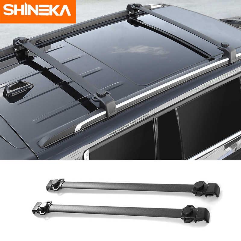 shineka roof racks for jeep patriot 2011 2016 car roof luggage bracket roof rack rails bars cross bars for jeep compass 2017