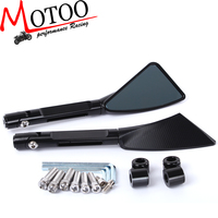 Motoo Aluminum CNC Motorcycle Rearview Side Mirror For R1 R3 R6 FZ6 GSXR600 1000 NINJA250 Z750