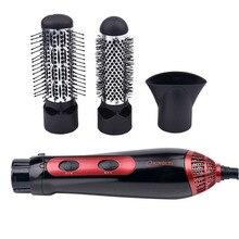 1200W puissance multifonctionnel peigne sèche cheveux lisseur brosse électrique peigne à friser sèche cheveux Salon coiffure outil 23