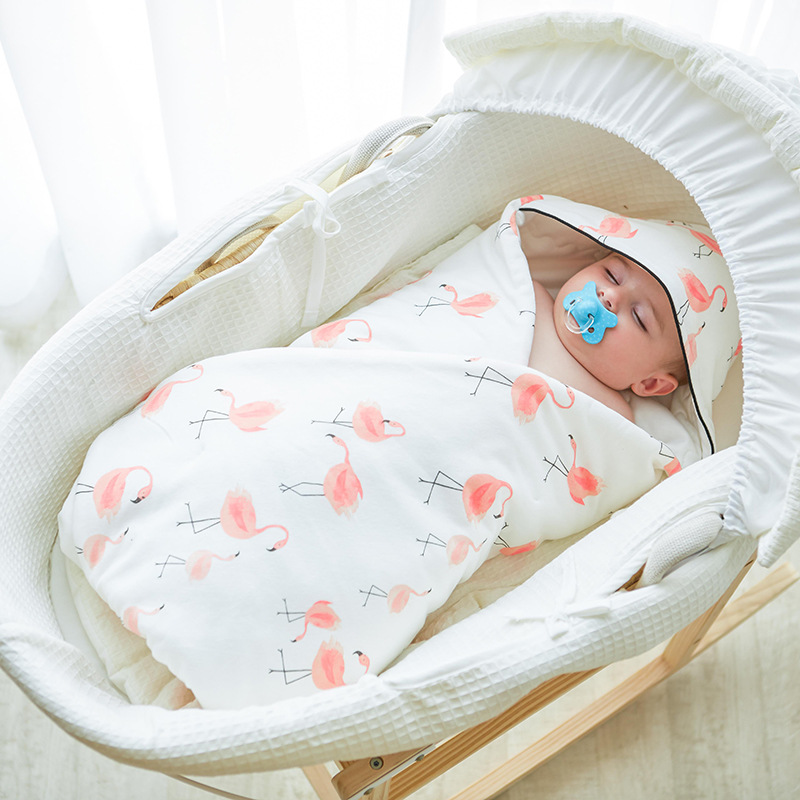 Baby Sleeping Bag Winter Envelope For Newborns Sleep Thermal Sack Cotton Kids Sleeping Bag Baby Swaddle Blanket baby sleeping bag winter envelope for baby newborns sleep thermal sack cotton kids sleep sack stroller sleeping bag windproof