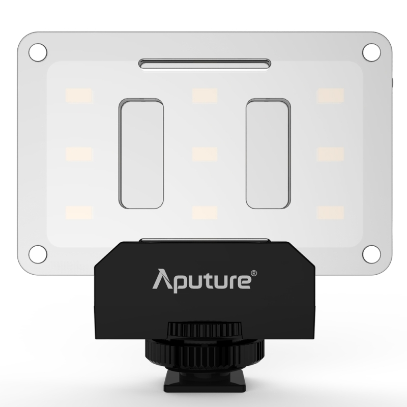 Aputure Amaran AL-M9 Pockable TLCI / CRI 95+ Illuminazione video con videocamera a LED per Canon Nikon Sony DSLR Fill Lights