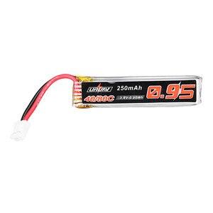 Image 4 - 5/10 adet URUAV 3.8V 250mAh 40C/80C 1S Lipo pil şarj edilebilir W/ PH2.0 fiş konnektörü için US65 UK65 QX65 URUAV UR65