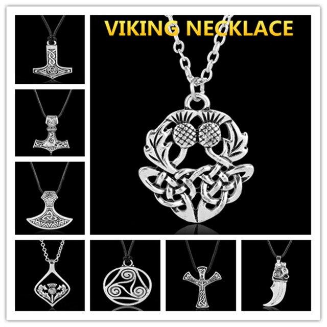 Viking Jewelry Thor Hammer Skull Symbol Of Sicily Trinacria Sleipnir