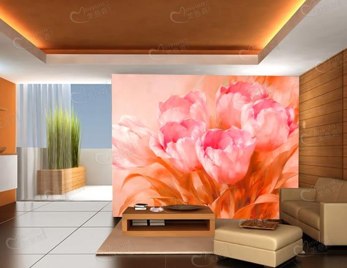 Aliexpress.com : Buy Custom large mural bedroom living room sofa TV ...