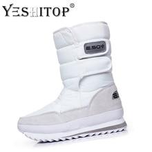 Waterproof Femininas Inverno Snow Boots