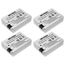 4x LP-E8 LP E8 LPE8 Батареи для камеры для Canon EOS 550D 600D 650D 700D Поцелуй X4 X5 x6i x7i Rebel t2i T3i T4i T5i Батареи