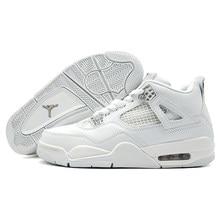35907037c148b Jordan Retro 4 chaussures de basket pour homme Sport Automobile Raptor Noir  Rouge Toro oreo de Sport baskets de sport Pur Blanc .