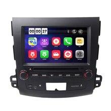 8 «dvd-плеер автомобиля GPS навигационная система для Mitsubishi Outlander 2007 2008 2009 2010 2011 2012 CAN BUS зеркало Ссылка Wi-Fi 3 г OBD2