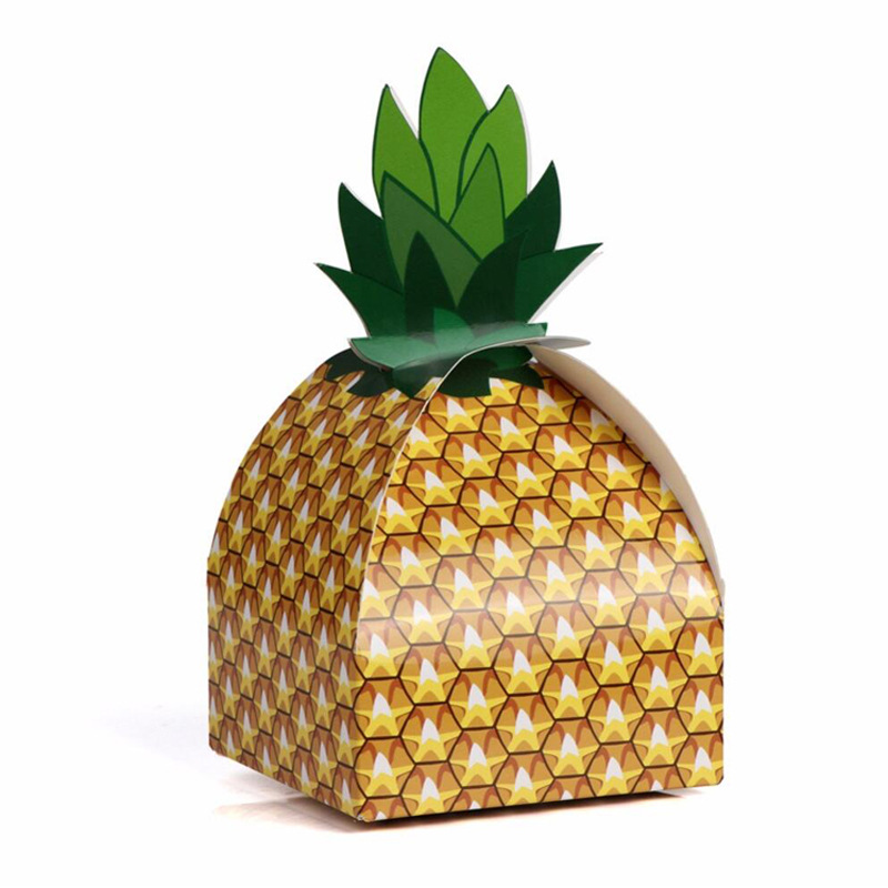Summer paper box beach Decorations Home Party Birthday Supplies 6Pcs Wedding Favors Gift Candy Boxes Paper Pineapple Gift BagSummer paper box beach Decorations Home Party Birthday Supplies 6Pcs Wedding Favors Gift Candy Boxes Paper Pineapple Gift Bag
