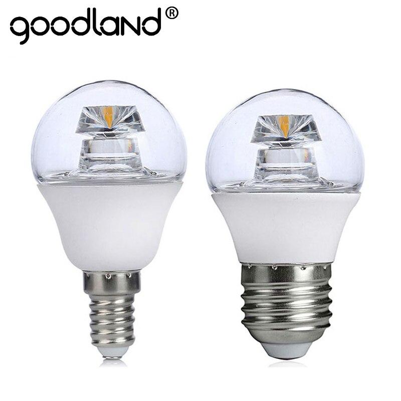 NEW Arrival COB LED Lamp E14 E27 5W 110V 220V Lampada LED Bulb High Luminous Crystal LED Light Pipe Bombillas LED Lighting G45