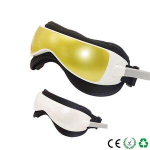 Image 2 - Elétrica dc vibração olho massageador máquina música magnética pressão de ar infravermelho aquecimento massagem óculos dispositivo cuidados com os olhos