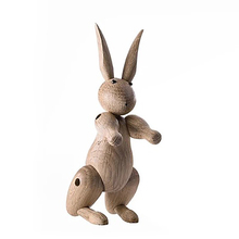 Creative Style Cute Rabbit Model Resin Ornaments Desktop Crafts Home Decoration Accessories Student Christmas Gifts Toys