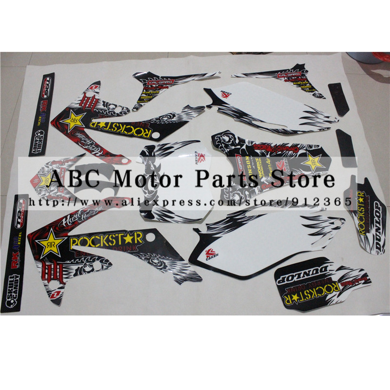 3M Decals Emblems Stickers Graphics CRF250 CRF250R 2010 2011 2012 2013 pit dirt Bike
