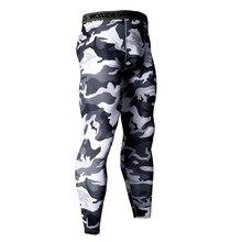 14 Colors Brand Camo Compression Pants Men Sport Wear Jogging Sports Leggings Training Gym Man Running Tights