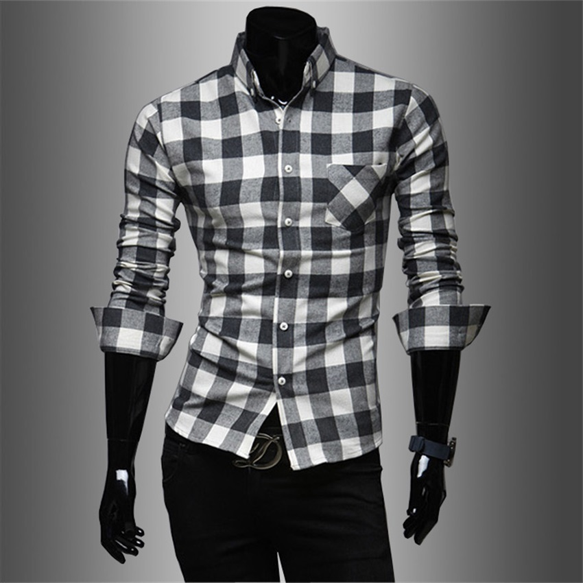 Cotton Checked Shirts Promotion-Shop for Promotional Cotton ...