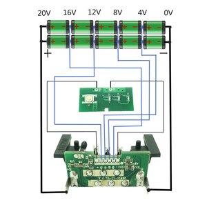 Image 5 - כלים סט עבור Dewalt 18V 20V סוללה החלפת פלסטיק מקרה 3.0Ah 4.0Ah DCB201,DCB203,DCB204,DCB200 ליתיום סוללה כיסוי חלקי