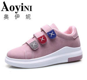 afe71926d0f8 AOYINI 2018 Spring White Women Casual Shoes Ladies Sneakers