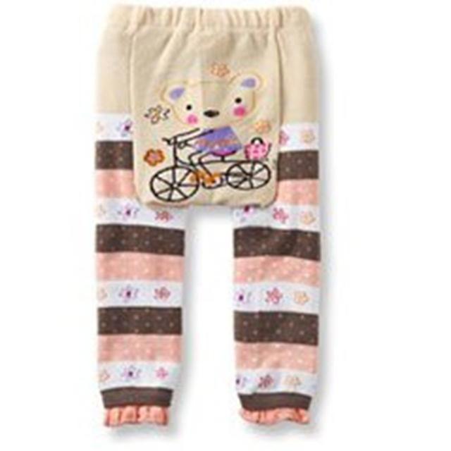 Cartoon Baby Girl Cotton Tights